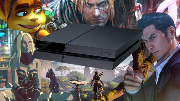 Playstation 4 exclusives PS4