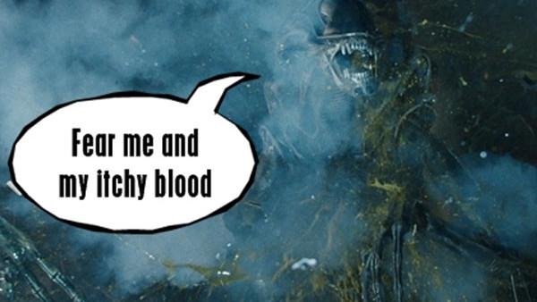 Aliens Blood