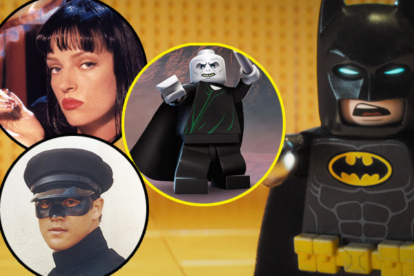 LEGO Batman Easter Eggs