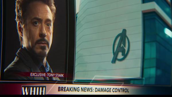 Tony Stark Spider-Man Homecoming Damage Control