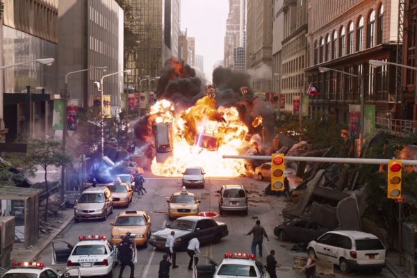 Avengers Battle Of New York