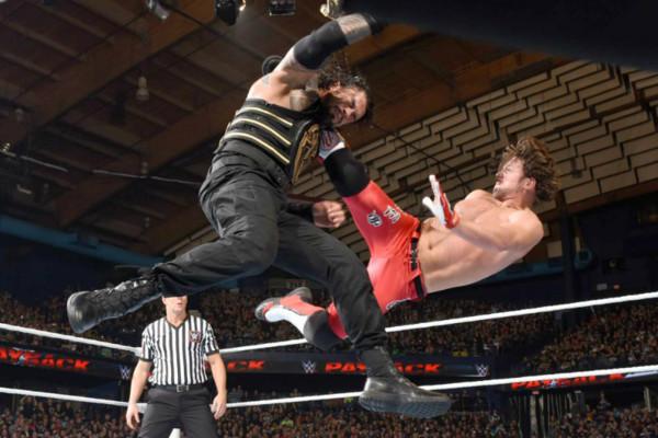 Roman Reigns Vs Aj Styles