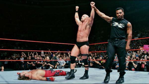 Shawn Michaels, Steve Austin, Mike Tyson