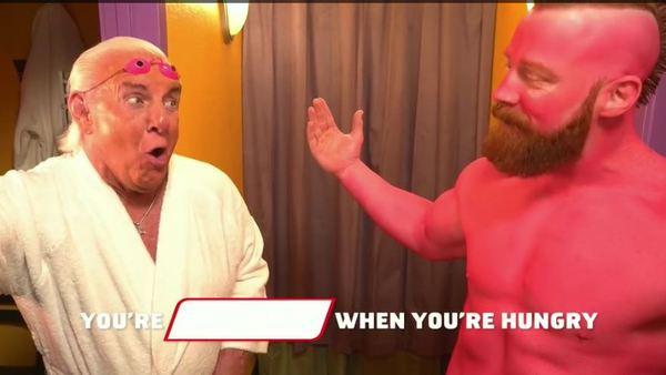 Ric Flair And Sheamus