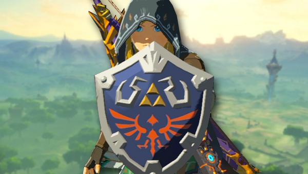 Zelda breath of the wild hylian shield