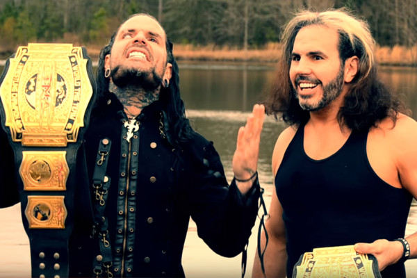 Broken Hardys TNA Titles