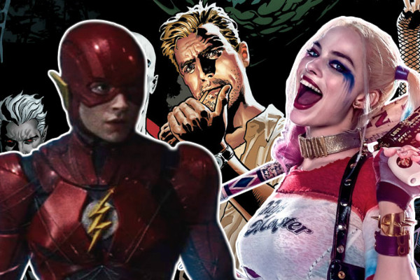 Justice League Dark Flash Harley Quinn