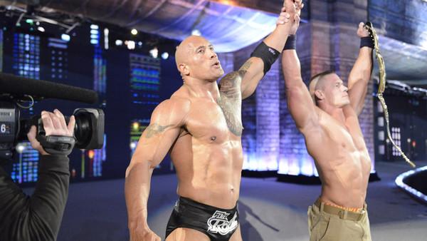 The Rock, John Cena