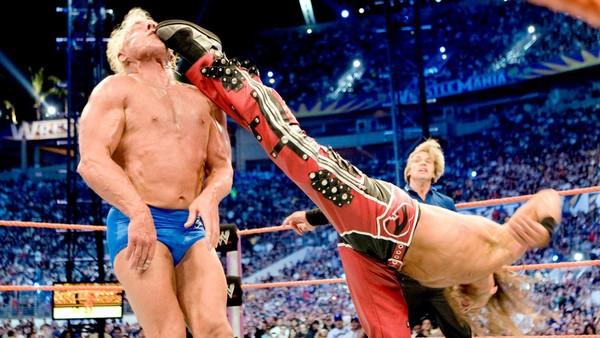 Ric Flair Shawn Michaels Wrestlemania XXIV