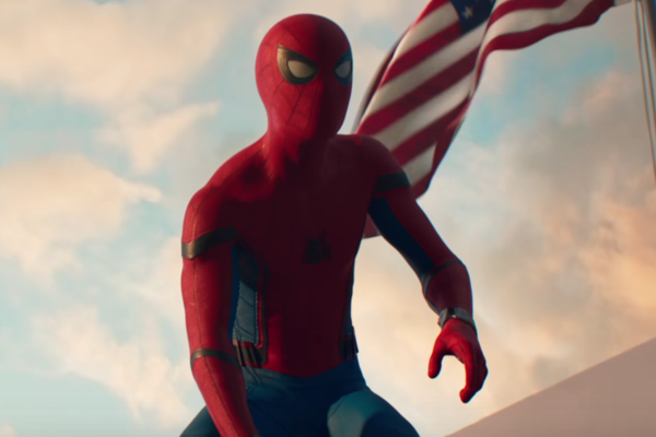 Spiderman Homecoming Flag