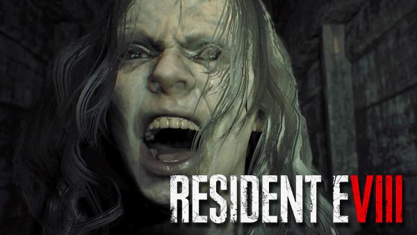 resident evil 8 logo png