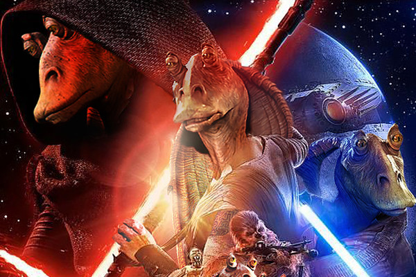 Star Wars The Force Awakens Jar Jar