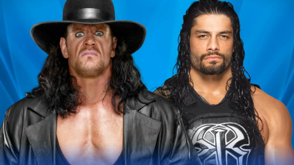 Reigns Undertaker WM