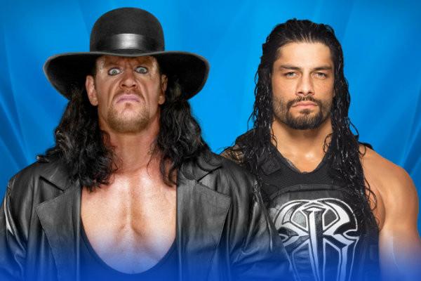 Reigns Undertaker WM