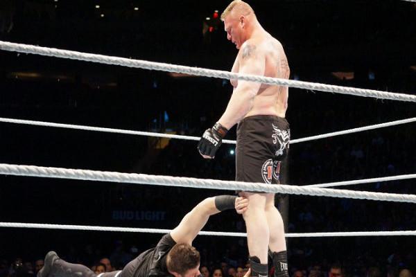 Brock Lesnar Kevin Owens