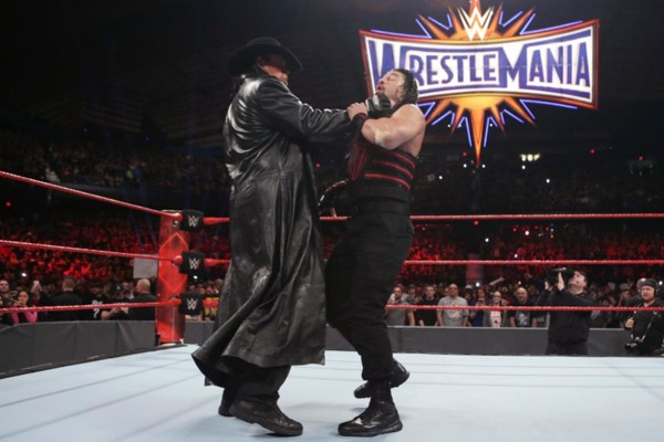 The Undertaker Roman Reigns