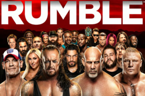 royal rumble 2017 dvd cover