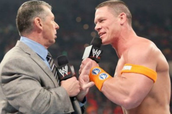 Vince Mcmahon John Cena