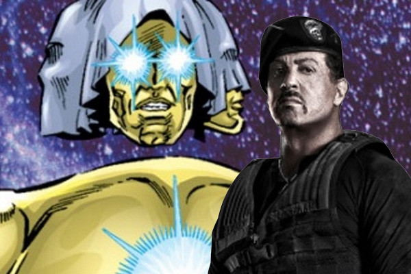 Syllvester Stallone The Living Tribunal