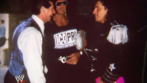 Vince McMahon Hulk Hogan Bret Hart