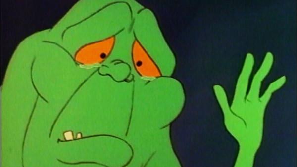 Real Ghostbusters Slimer