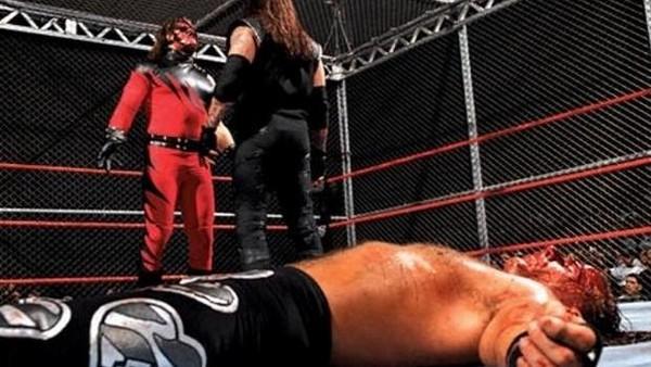 Resultado de imagem para undertaker vs shawn michaels badd blood