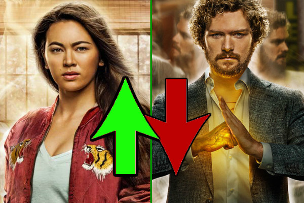 Iron Fist Ups Downs