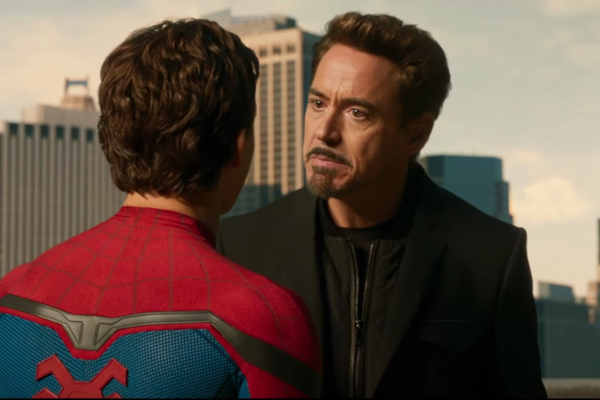 Spider-Man Homecoming Tony Stark Angry