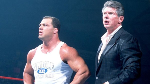Kurt Angle Details Vince McMahon's Nighttime Routine