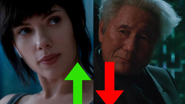 Ghost In The Shell Scarlett Johansson Takeshi Kitano