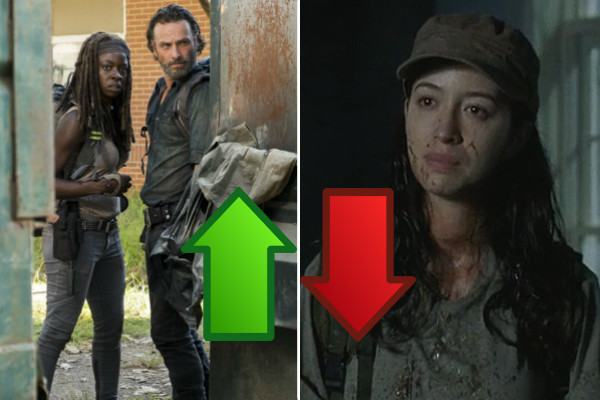 The Walking Dead Say Yes Ups Downs