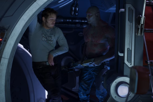 Guardians Of The Galaxy Vol 2 Drax Star-Lord