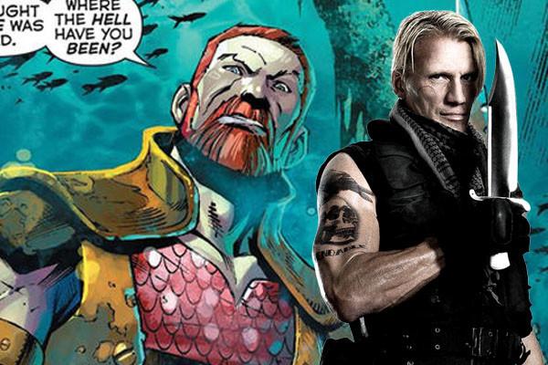 Aquaman adds Dolph Lundgren as undersea ruler Nereus