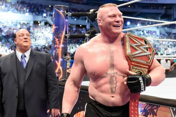 5 Booking Options For Brock Lesnar As WWE Universal Champion