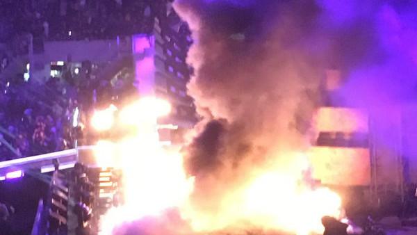 WrestleMania Fire