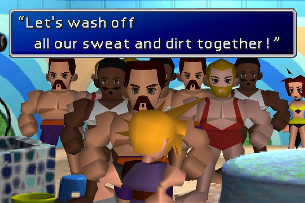 Final Fantasy VII Bro Gay