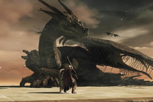 Dark souls 2 ancient dragon