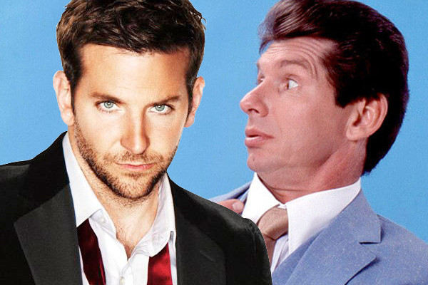 Bradley Cooper Offered The Role Of Vince McMahon In Upcoming Biopic Film