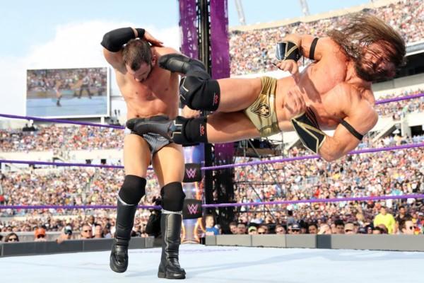 WrestleMania 33 Neville Austin Aries