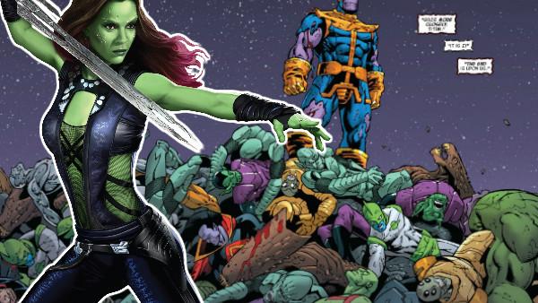 Avengers Gamora Thanos