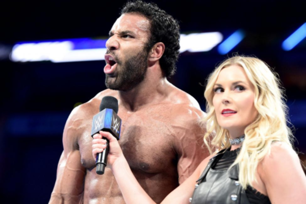 Jinder Mahal Renee Young