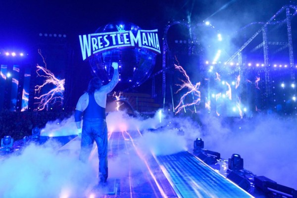 The Undertaker WrestleMania 33 Bye Bye