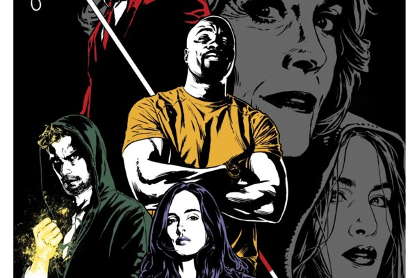 Joe Quesada Shares New Artwork For Marvel's The Defenders