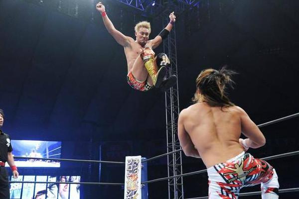 Kazuchika Okada Hiroshi Tanahashi Wrestle Kingdom 10