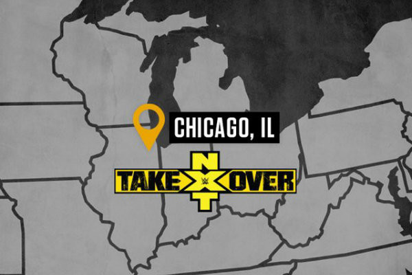 NXT TakeOver Chicago Announced For Next Month
