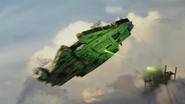 Star Wars The Last Jedi Trailer Millennium Falcon