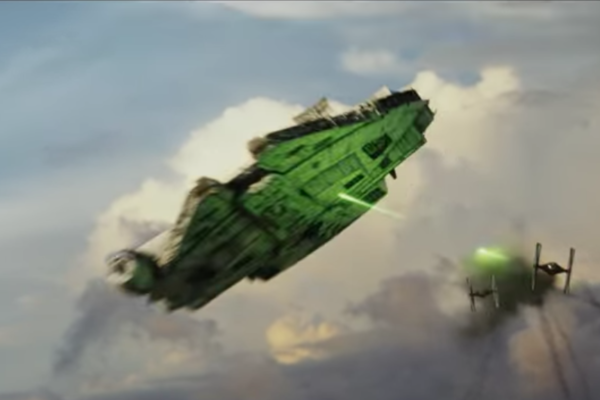Star Wars The Last Jedi Trailer Millennium Falcon