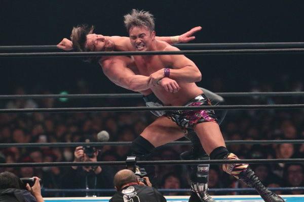 Kazuchika Okada Kenny Omega Wrestle Kingdom 11
