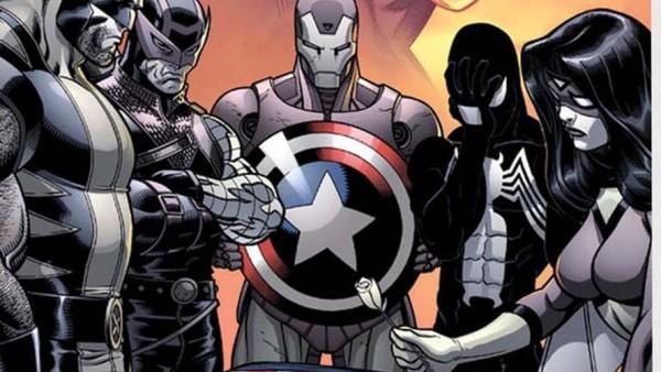 Avengers Captain America Dead