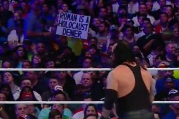 Roman Holocaust WrestleMania